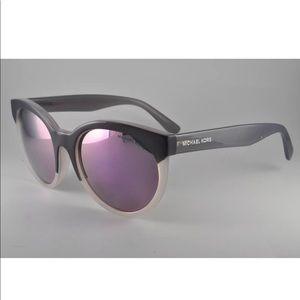 Michael Kors Accessories - Michael Kors Round Gray Crystal Sunglasses